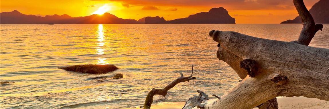 Sonnenuntergang Strand Konvex7
