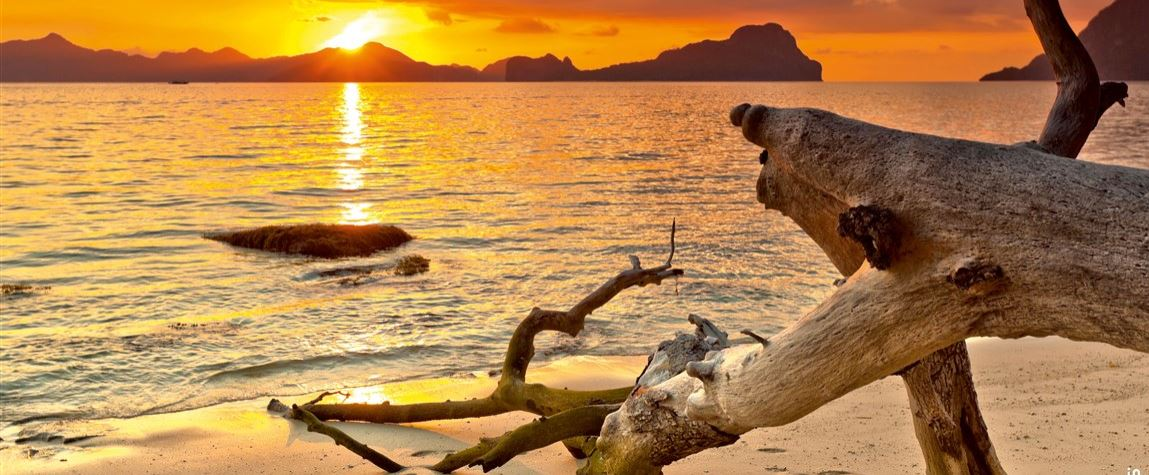 Sonnenuntergang Strand Konvex8