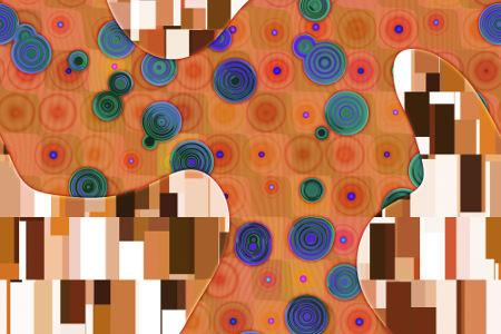 Bildmotiv Abstract Klimt