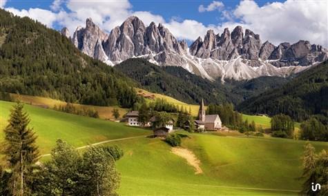 Alpenlandschaft Konvex2