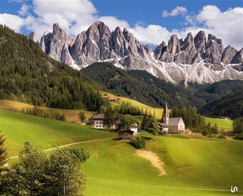 Alpenlandschaft Konvex3