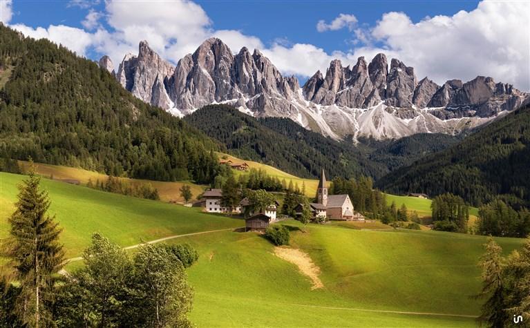 Alpenlandschaft Konvex6