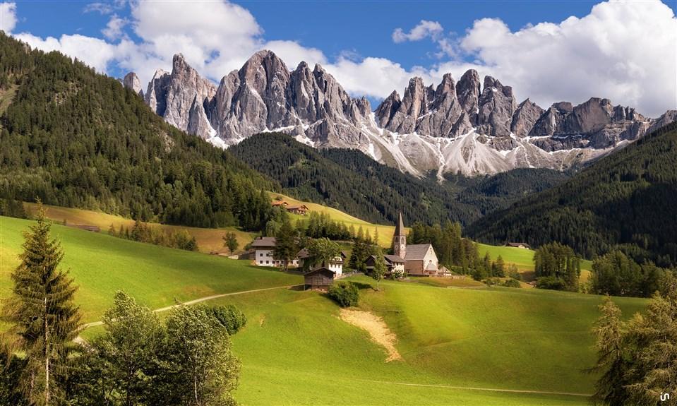 Alpenlandschaft Konvex9