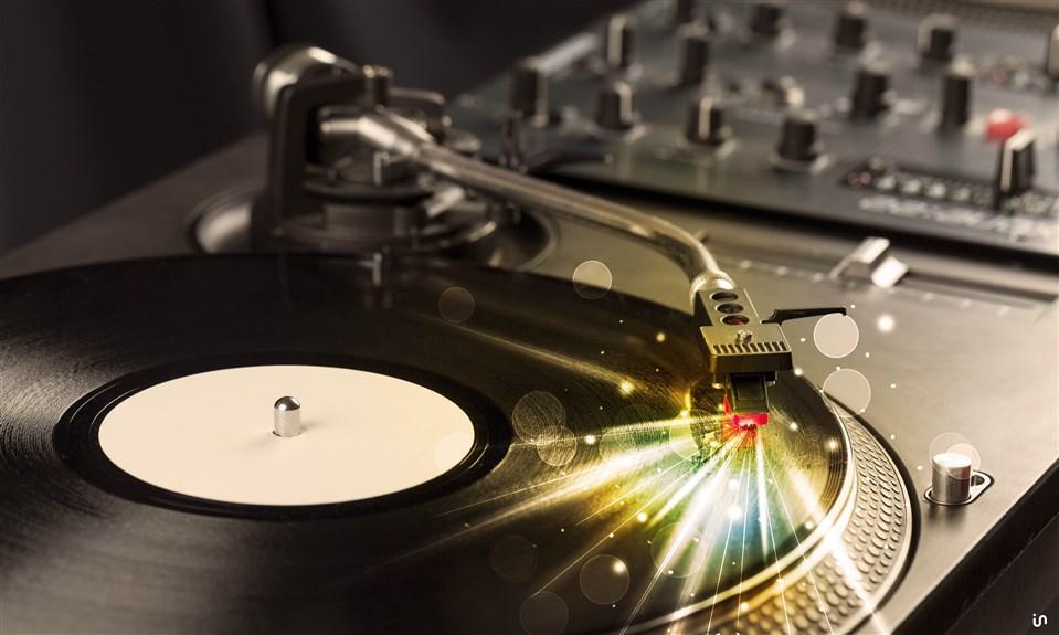 Schallplatte Konvex9