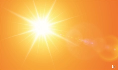 Sonne Abstract 2 Konvex2