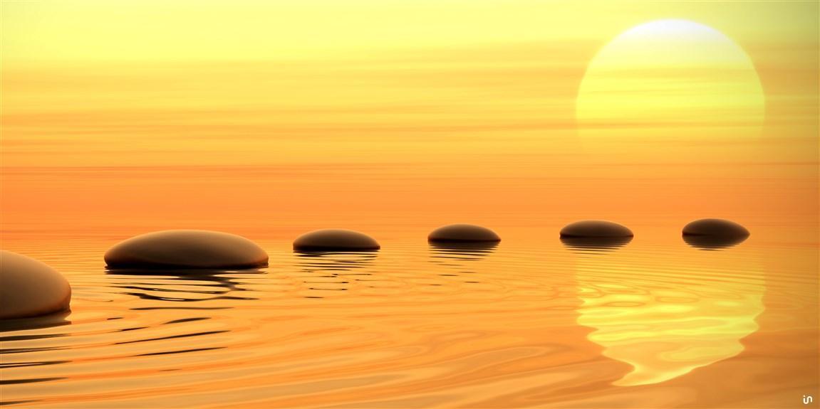 Sonnenuntergang Stones Konvex11