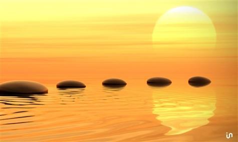Sonnenuntergang Stones Konvex2