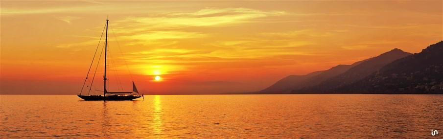 Sunset Sailing Konvex4